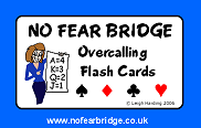 Practise Acol Bidding Overcalling Flash Cards