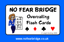 Overcalls Flash Cards